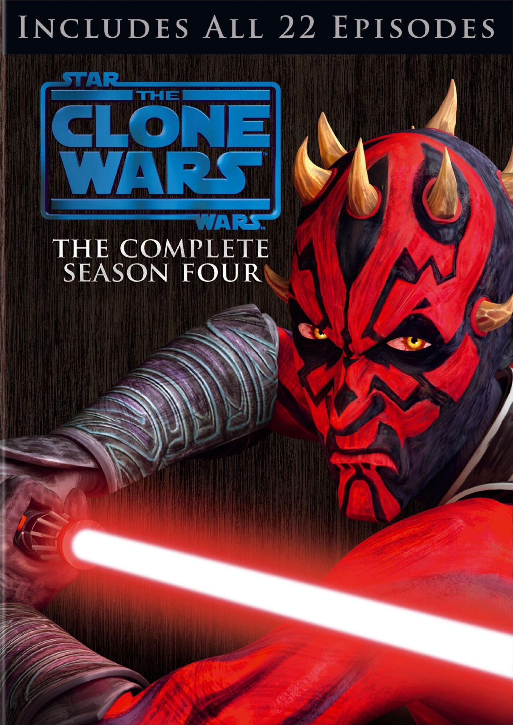 Star Wars: The Clone Wars Season Four (DVD)