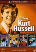 Disney 4-Film Collection Kurt Russell (DVD)