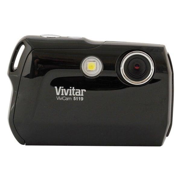 Vivitar V5119 5.1 Megapixel Compact Camera - Black