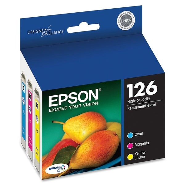 Epson DURABrite 126 High Capacity Multi-Pack Ink Cartridge