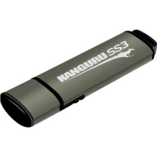 Kanguru SS3 USB3.0 Flash Drive with Physical Write Protect Switch, 32