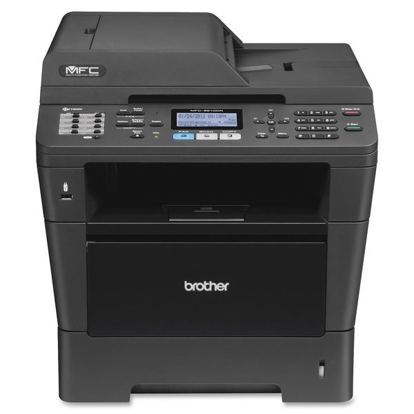Brother MFC-8510DN Laser Multifunction Printer - Monochrome - Plain P