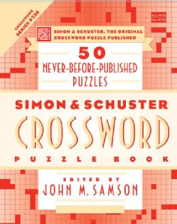 Simon & Schuster Crossword Puzzle Book: New Challenges in the Original Series, Containing 50 Never-Before-Publish... (Paperback)