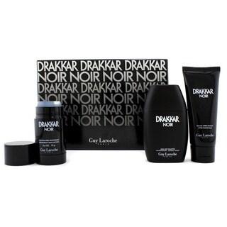 Guy Laroche Drakkar Noir Men's 3-piece Gift Set