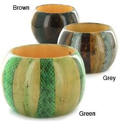 Wood Natural Element Bangle Bracelet