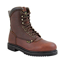 AdTec by Beston Men's Medium Steel Toe Work Boots