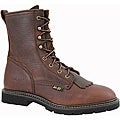 AdTec by Beston Men's Chestnut Leather Packer Boots