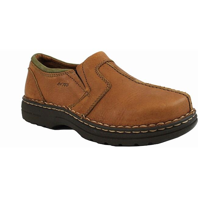AdTec by Beston Men's Brown Slip-on Loafers