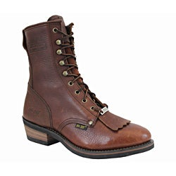 AdTec by Beston Men's Chestnut Steel Toe Packer Boots