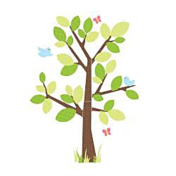 RoomMates Kids' Tree Peel and Stick Giant Wall Decal