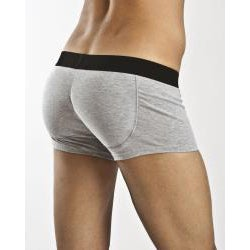 Rounderbum Men's Grey Padded Trunk Underwear