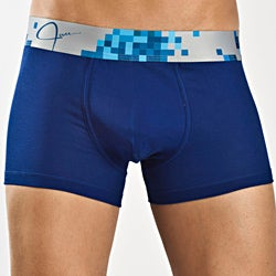 JAM Men's Blue Jam Beat Trunk Underwear