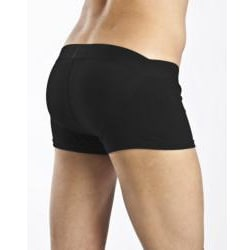 Rounderbum Men's Black Cotton Lift Underwear
