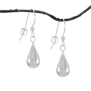 Jewelry by Dawn Round Teardrop Sterling Silver Earrings