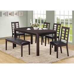 Cappuccino 38-inch Side Chairs (Set of 2)