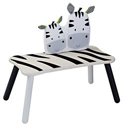 Wonderworld Toys Zebra Long Bench