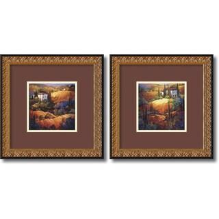 Nancy O'Toole 'Tuscany Set' Framed Art Print