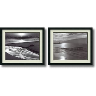 Ansel Adams 'Beach, 1966 Set' Framed Art Print