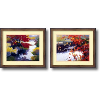 Tadashi Asoma 'Water and Color Set' Framed Art Print