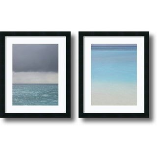 Brian Leighton 'Bleu Set' Framed Art Print