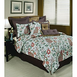 Sherry Kline Pavo Real 7-piece Comforter Set