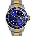 Pre-owned Rolex Men's Blue Two-tone Submariner Watch
