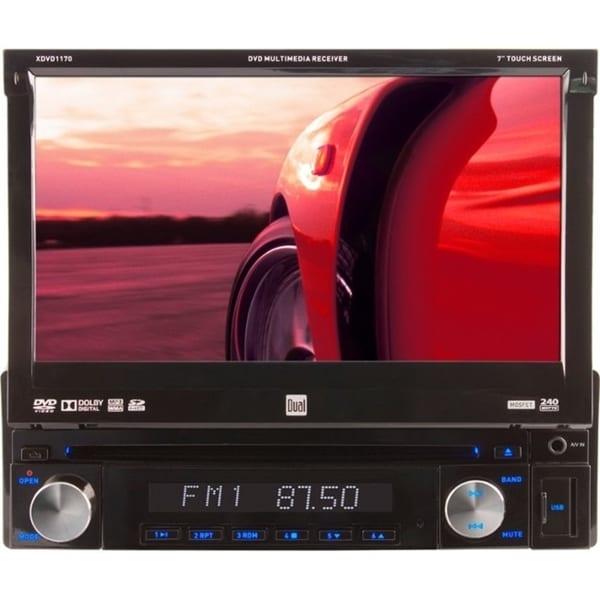 "Namsung XDVD1170 Car DVD Player - 7"" Touchscreen LCD - 72 W RMS - Sin"