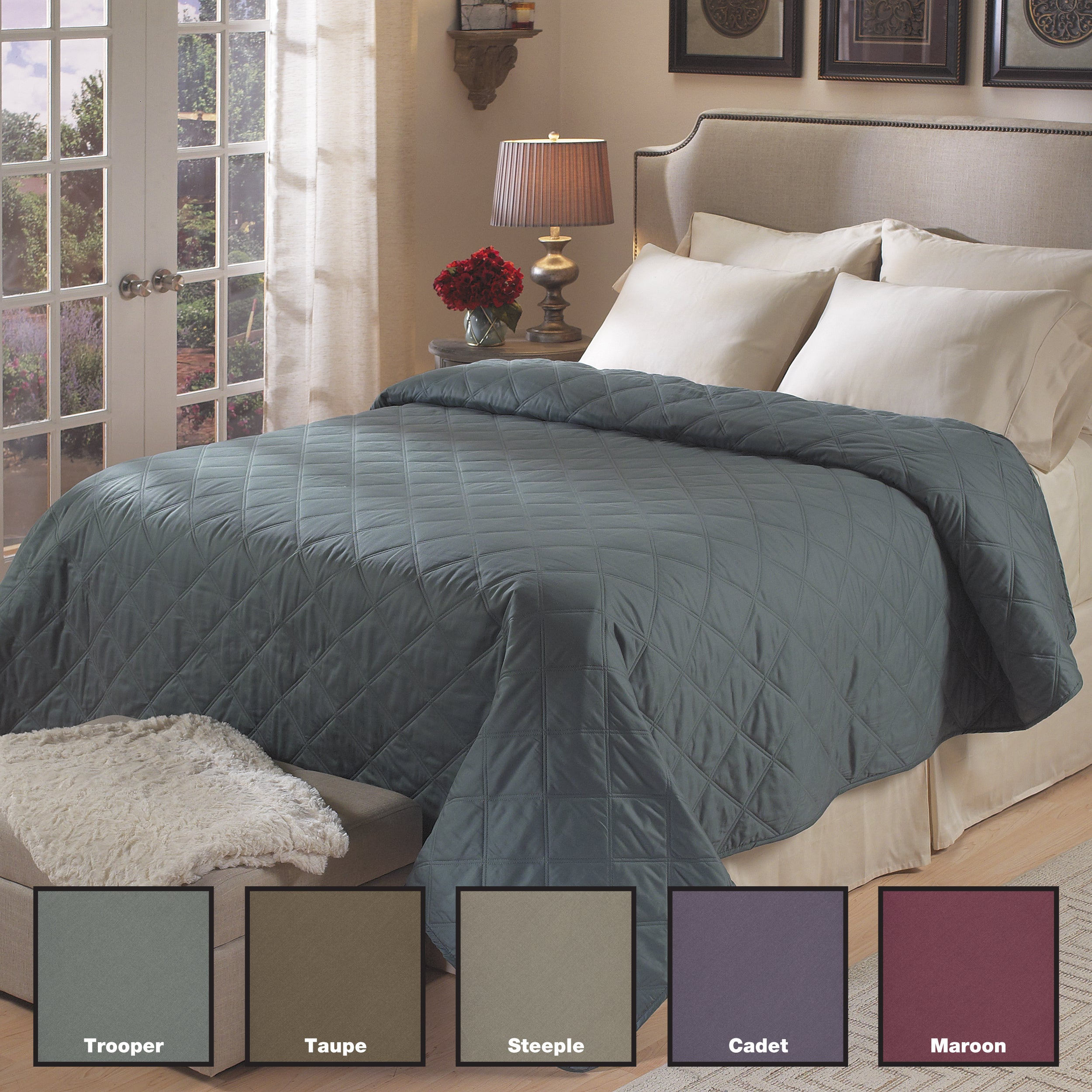 Timeless All Cotton 300 Thread Count Sateen Blanket