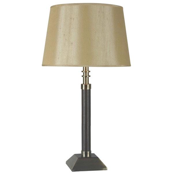 Kenroy 32-inch Vintage Brass Table Lamp