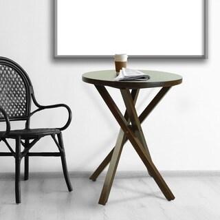 American Walnut Criss Cross Table