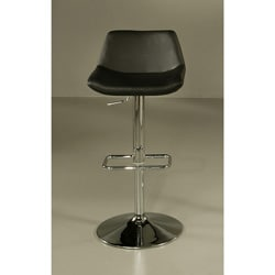 Los Cabos Black Hydraulic Bar Stool