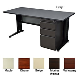 Regency Seating Fusion 72-inch Single Pedestal Desk