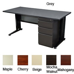 Regency Seating Fusion 66-inch Single Pedestal Desk