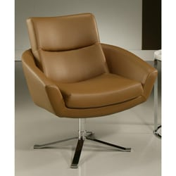 Aliante Brown Club Chair