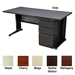 Regency Seating Fusion 60-inch Single Pedestal Desk