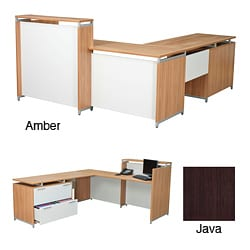 Regency Seating OneDesk ADA Compliant Reception Desk with 62-inch Single Lateral Return