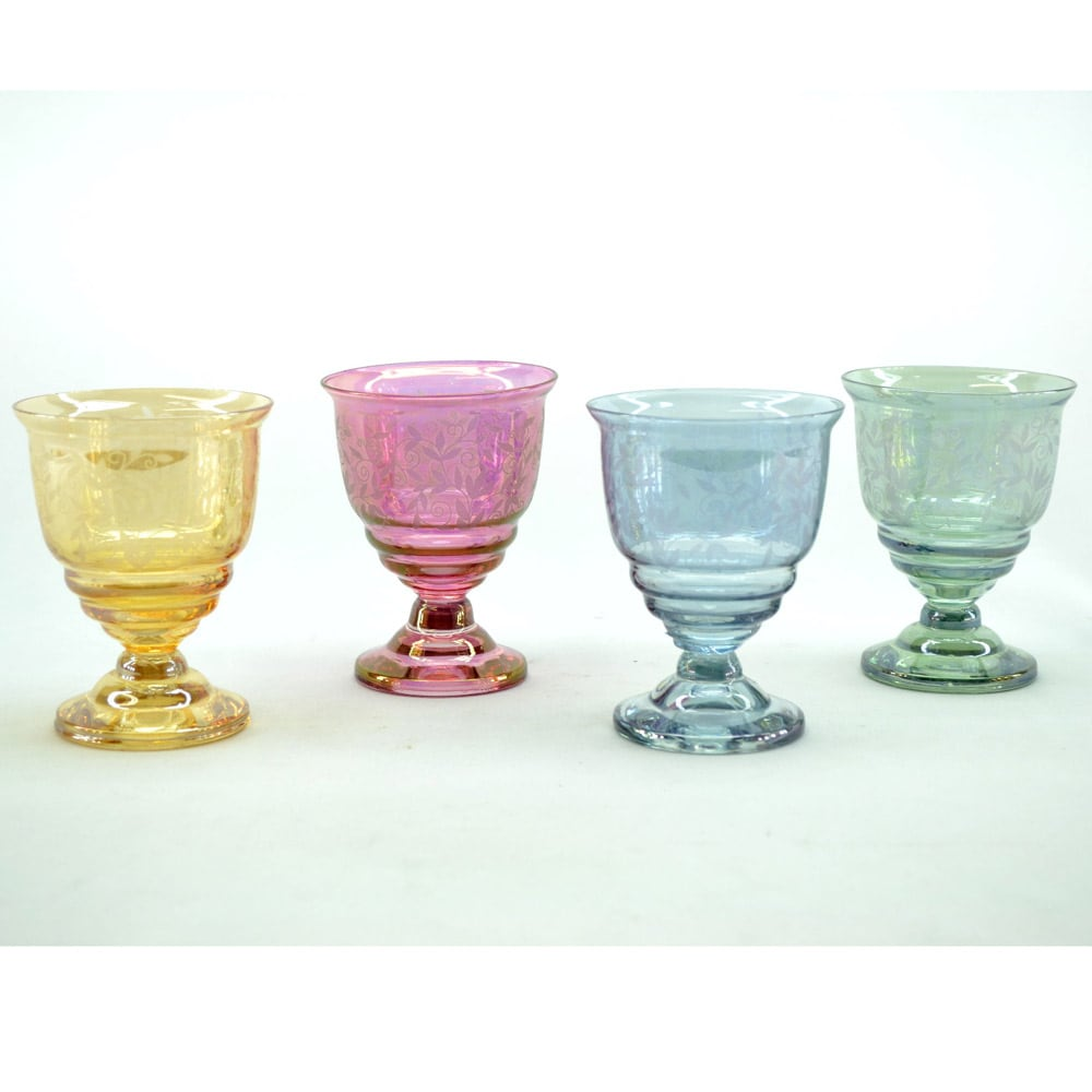 Multicolor Juice Glass (Set of 4)