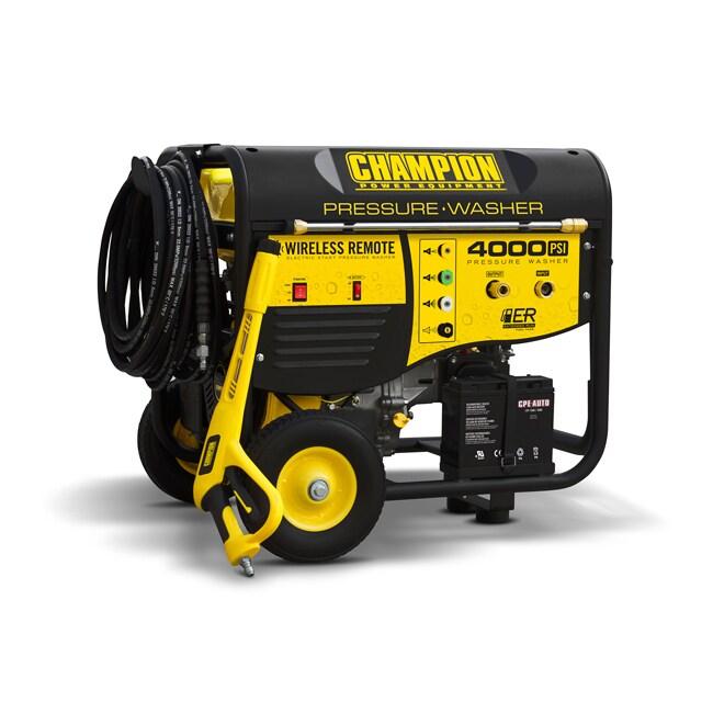 Champion 4000 PSI Remote Start Pressure Washer