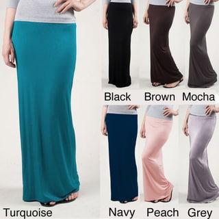Tabeez Women's Pencil Maxi Skirt