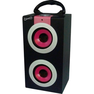 Supersonic 2.0 Speaker System - 6 W RMS - Pink