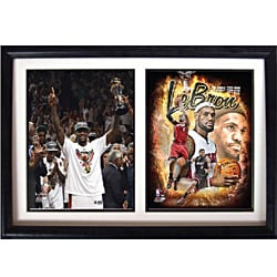 Miami Heat 2012 LeBron James Double Photo Frame