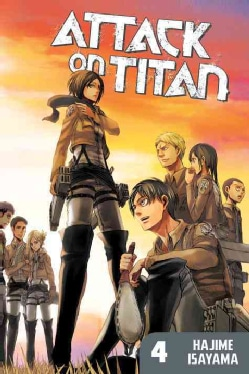 Attack on Titan 4 (Paperback)