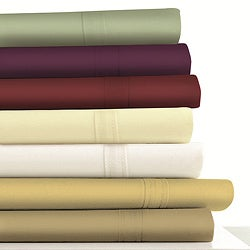 Egyptian Cotton Sateen 500 Thread Count Sheet or Pillowcases Separates