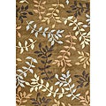 Alliyah Hand-Made Tufted Inca Gold New Zealand Blend Wool Rug (5' x 8')