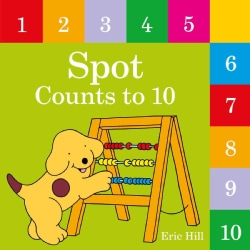 Spot Counts to 10 (Board book)