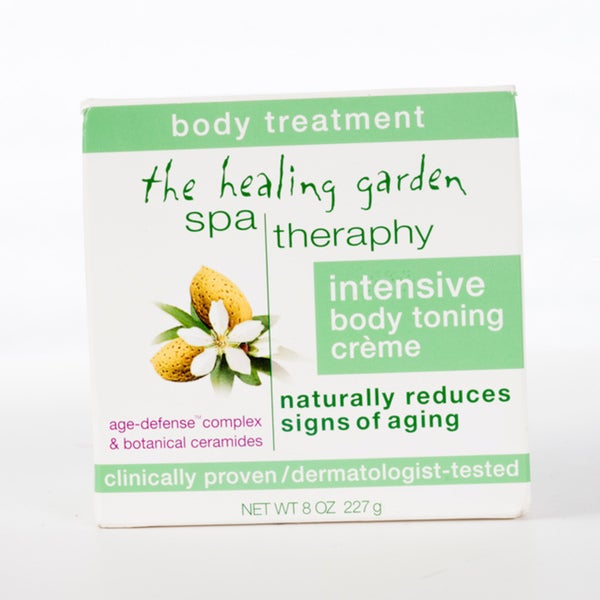 The Healing Garden Spa Theraphy Intensive 8-ounce Toning Creme (Pack of 4)