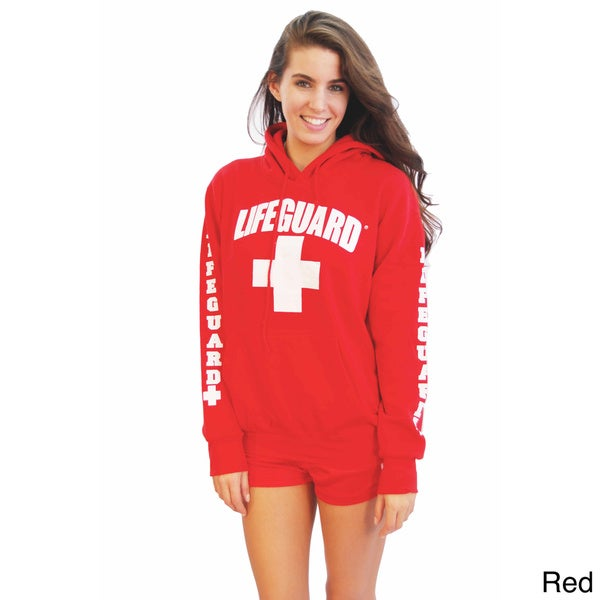 Lifeguard Women's Hooded Sweatshirt - Overstock Shopping - Top