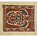 Sea Turtle Siapo Bark Cloth Art (Samoa)