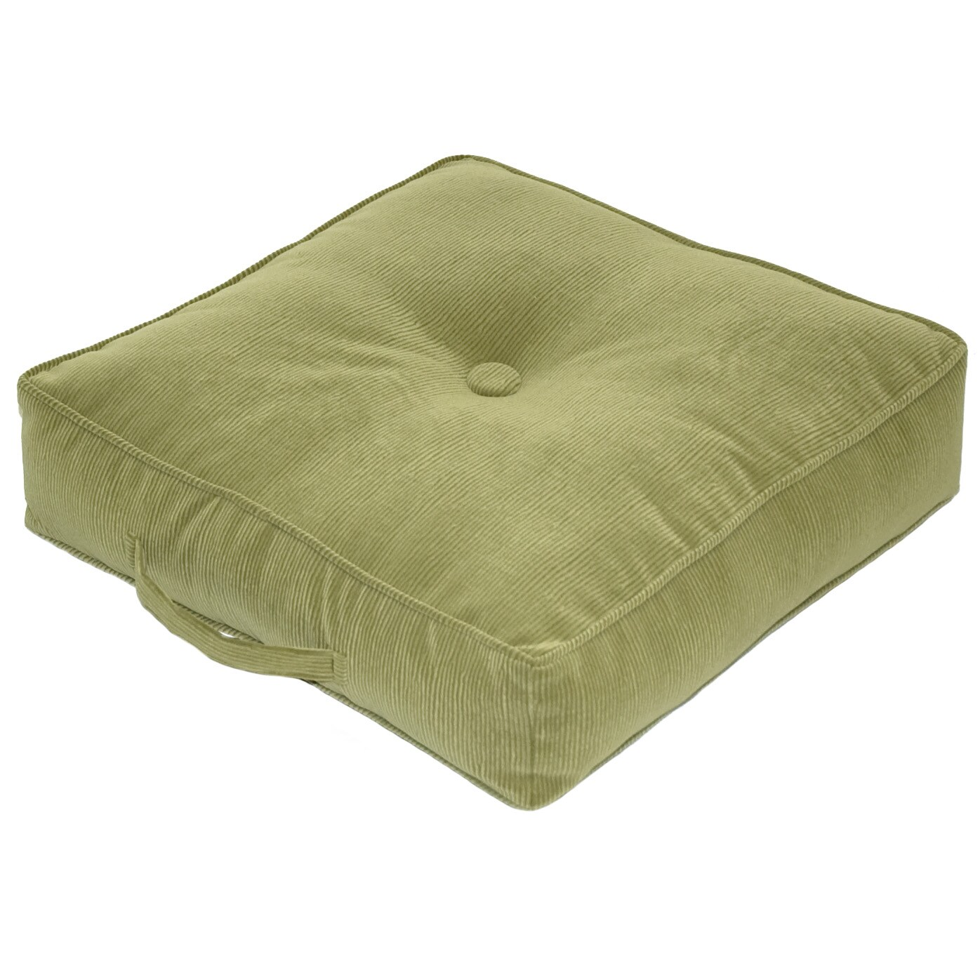 Ribbed Microfiber 20 inch Olive Square Floor Pillow  : Ribbed Microfiber 20 inch Olive Square Floor Pillow L14351258 from www.overstock.com size 1396 x 1396 jpeg 158kB