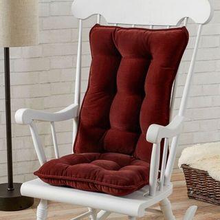 Greendale Home Fashions Wine Cherokee Rocking Chair Cushion Set